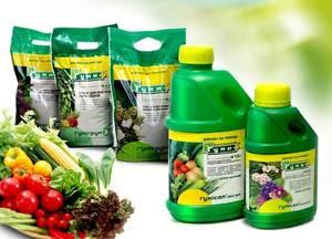 Подкормка для овощных культур.